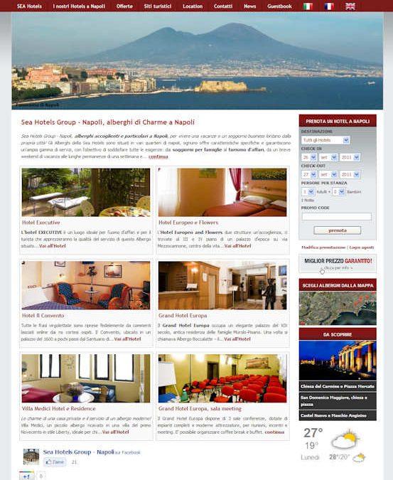 Sea Hotels Group, Napoli