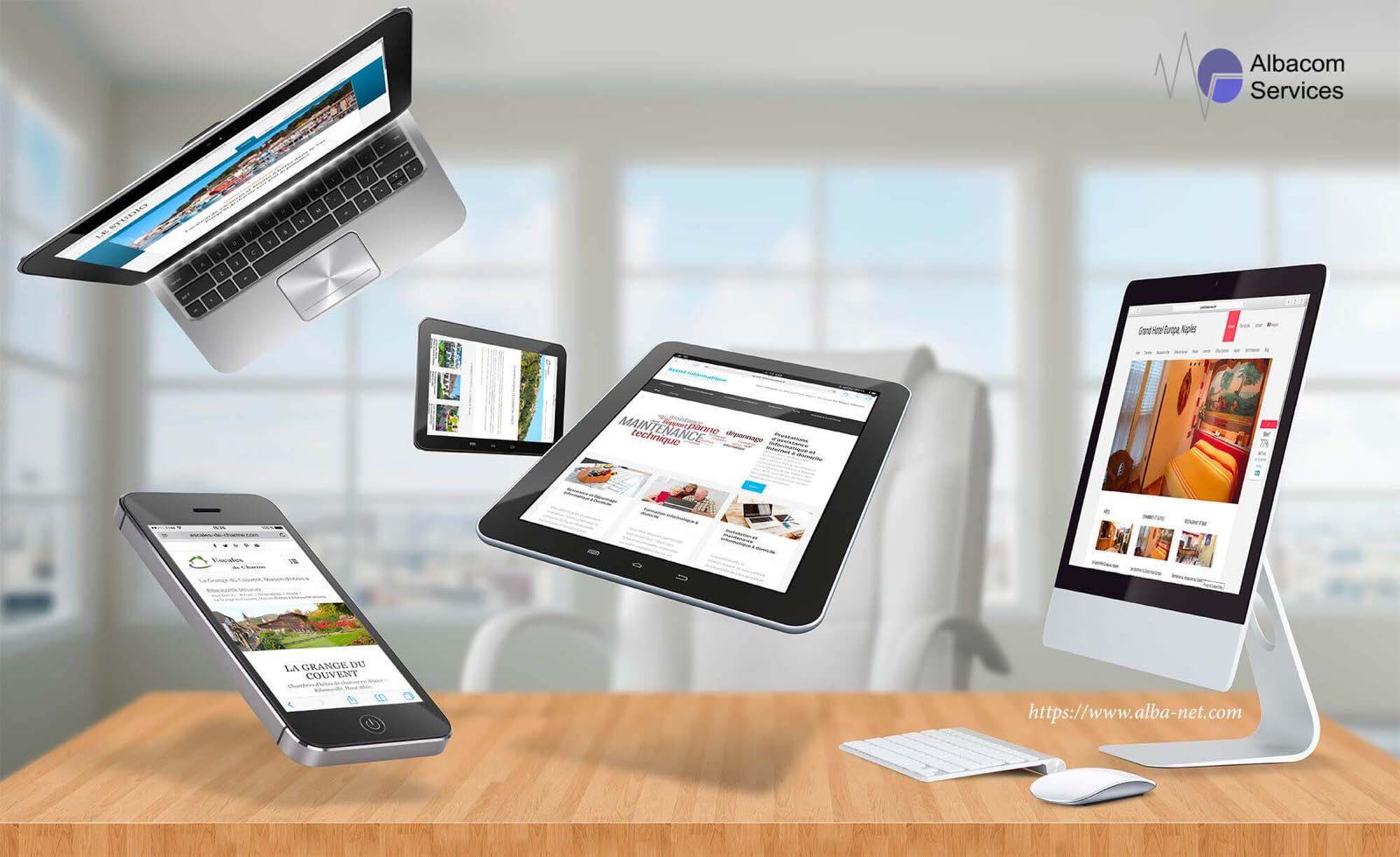 Realizzazione siti web per Hotel Albacom Services