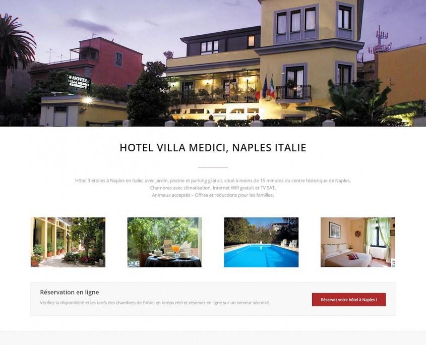 Progetto Hotel Villa Medici top