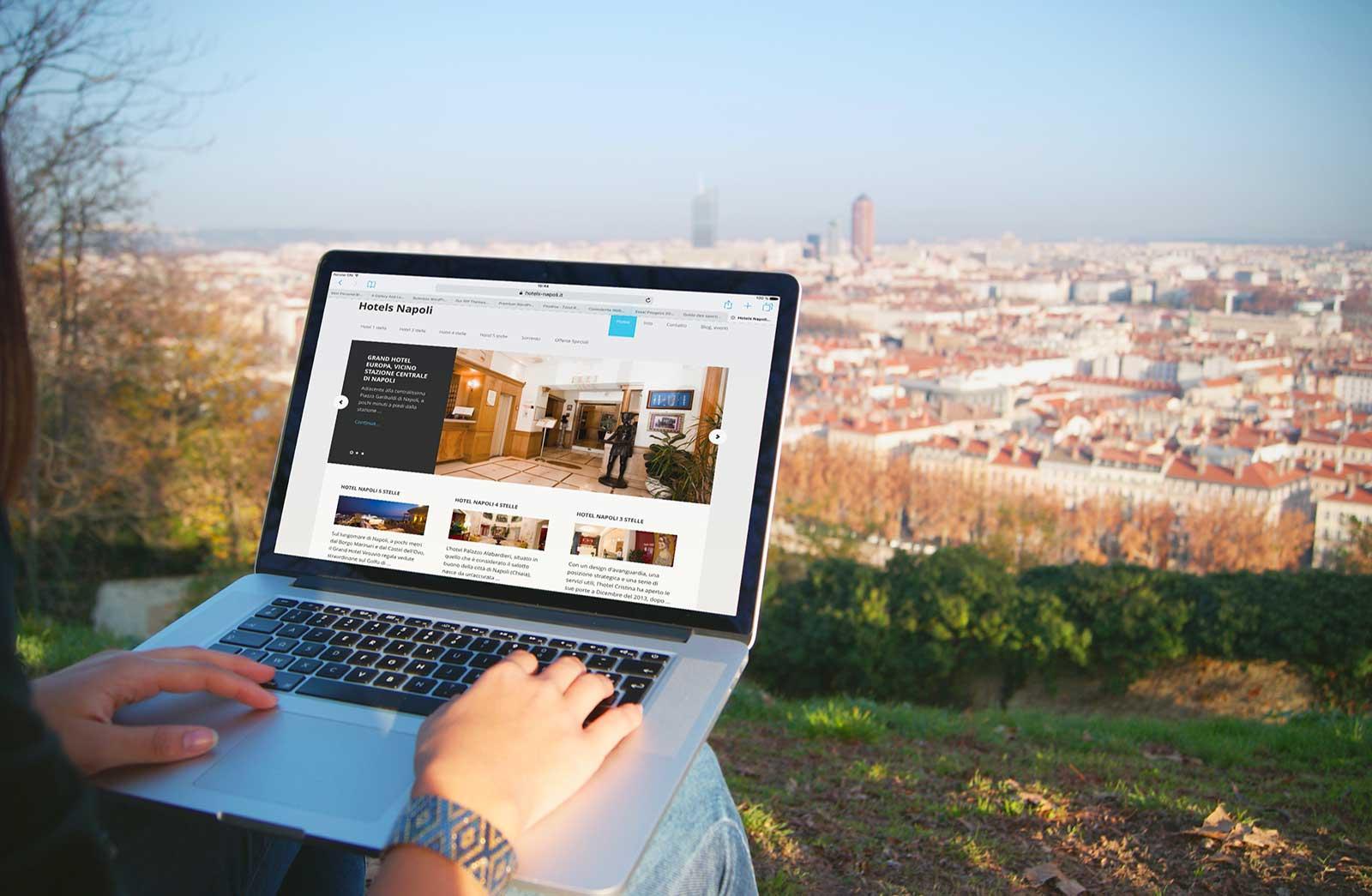 Creazione sito blog Hotels Napoli Napoli, Italia: Mac Pro