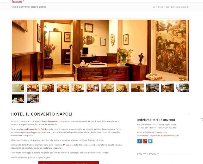 Sea Hotels Napoli Il Convento