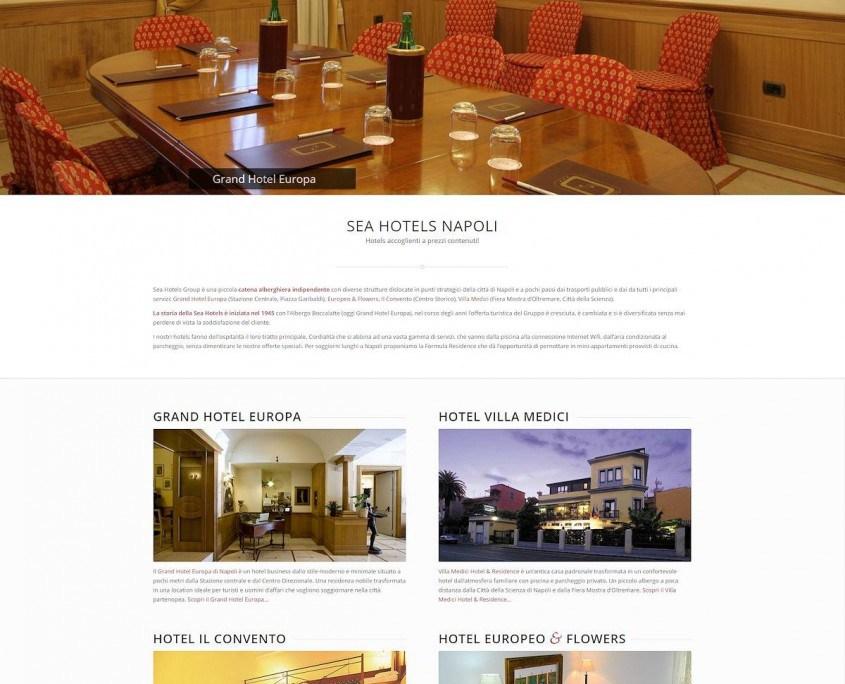Sea Hotels Napoli Home top